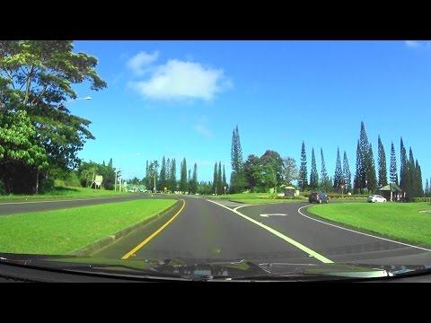 ワイルア から プリンスビル までを ドライブ : Drives from Wailua Town to Princeville S.C. / ぶらり旅ハワイ