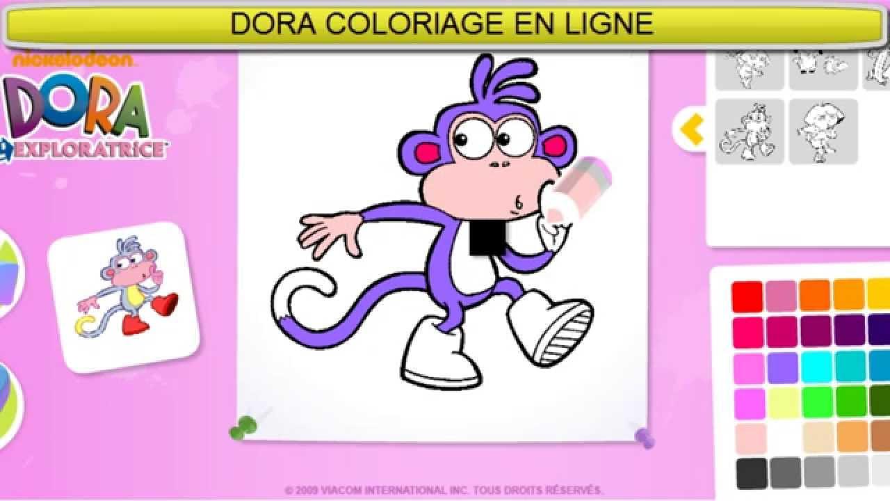 Dora Exploratrice Coloriage En Ligne Jeu Dora Complet Hd