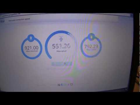 Google Fiber SPEED Test (download and upload) [100X FASTER INTERNET]