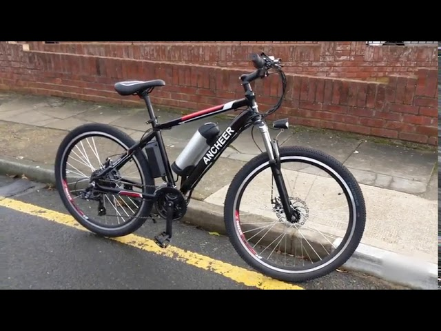 ANCHEER Power Plus 21 Speed Electric Mountain Bike