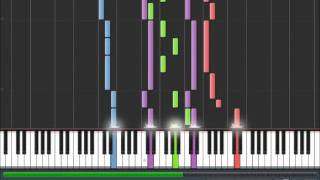 Avenged Sevenfold - Little Piece Of Heaven Synthesia Piano Cover