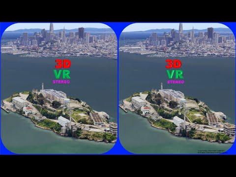 us-san-francisco,-alcatraz-island-3d-vr-stereogram-magic-eye,-3d-sbs,-google-earth,-매직아이