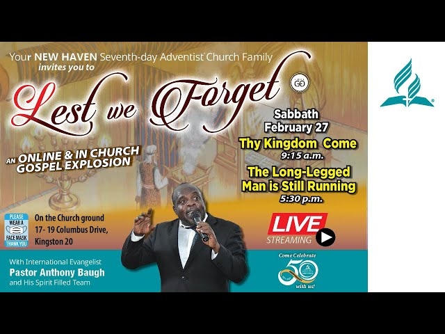 Lest We Forget - An Online & in church Gospel Explosion