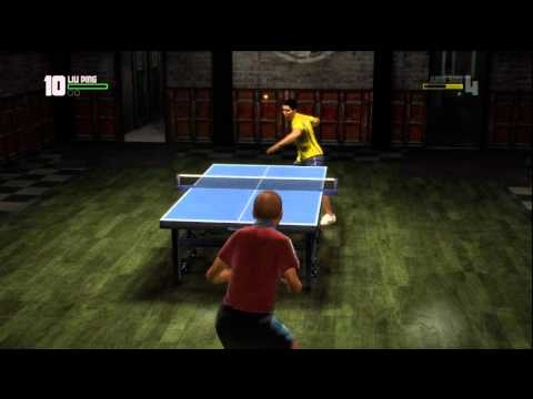 Table Tennis, Xbox 360