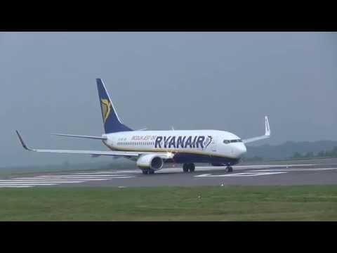 Bristol Airport Spotting (BRS/EGGD) - Rare Airplanes - Rugby Charters 11th October 2015