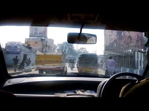 India : Hyderabad City & Traffic Highlights