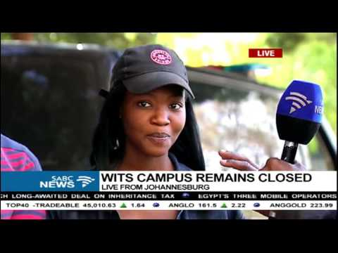 Protesting Wits Students Are Still Locked In A Meeting