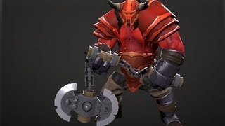 Forged in Demons' Blood Set - Axe Set (Full In-Game Preview)