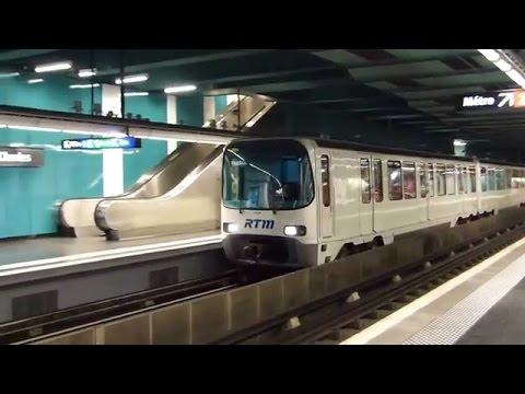 The Metro De Marseille, France