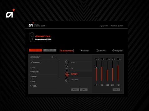 ASTRO Gaming Command Center | Update And Customize MixAmp Pro TR