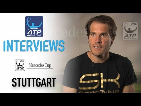Haas Previews Federer Clash In Stuttgart 2017