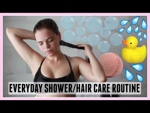 ☁ MY SHOWER & HAIR CARE ROUTINE ☁