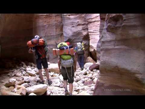 Trekking The Rajef Inselbergs, Jordan, Petra Area.