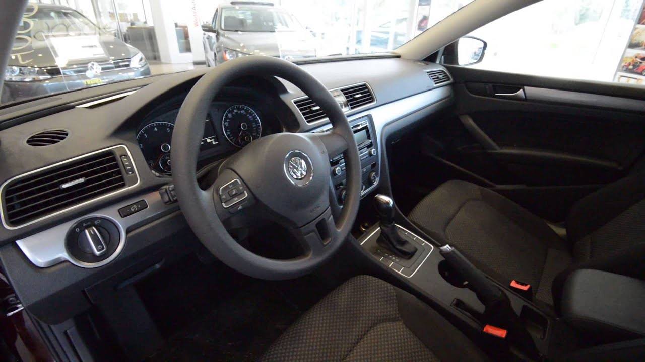 2014 volkswagen passat s 2 5l auto new car at trend motors. Black Bedroom Furniture Sets. Home Design Ideas