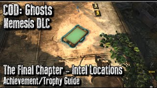 Cod: Ghosts - All Exodus Intel Locations - The Final Chapter Achievement/trophy Guide - Nemesis