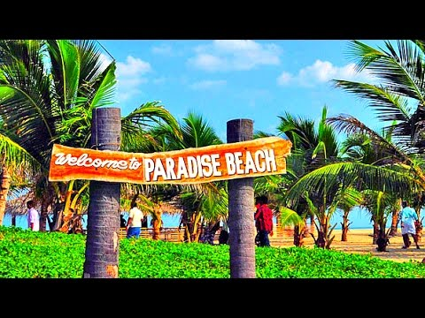 Paradise Beach Pondicherry India