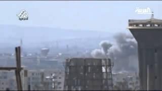قوات النظام تستهدف حي جوبر وأحياء مخيم اليرموك
