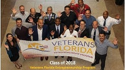 UCF Veterans Florida Entrepreneurship Program 2018