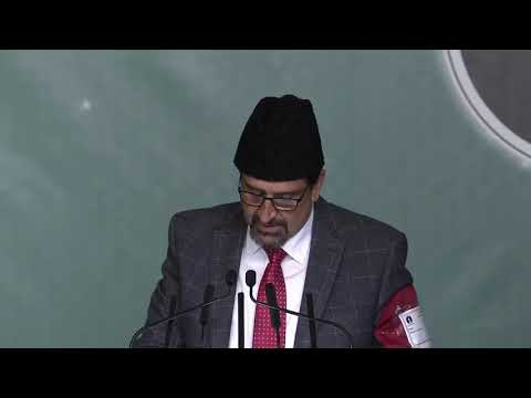 Ijtema Report by Sadr Sahib   Ansarullah UK Ijtema 2018