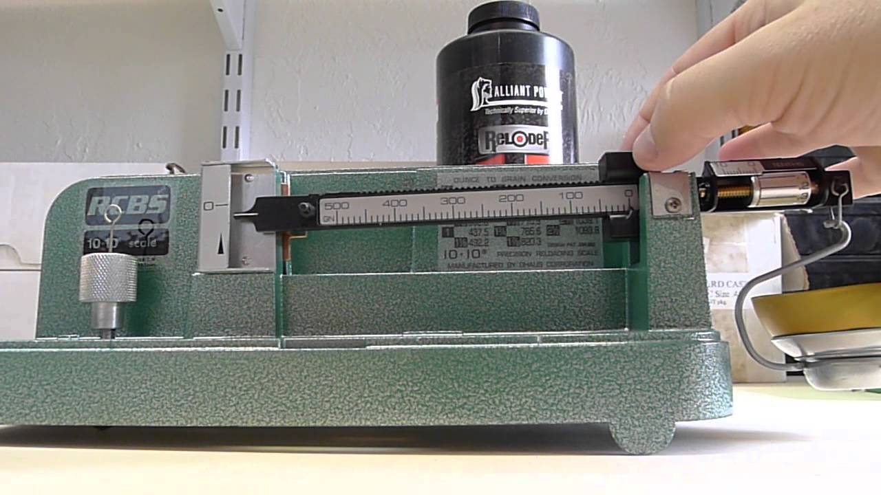 Rcbs 10 10 Reloading Scale Unboxing And Review Youtube