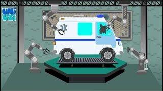 Umi Uzi   ambulance   car garage    for kids & toddlers  ♥♥♥ Umi Uzi