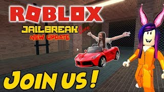 ROBLOX LIVE STREAM!! - Jailbreak, Temple Thieves and more! - COME JOIN THE FUN!! - #254