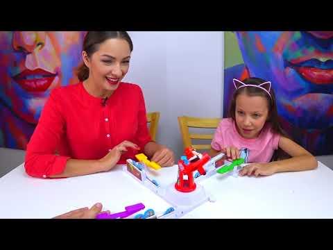 БЕРЕГИСЬ ОХОТНИКА Челлендж СПАСИ Цыплят Loopin Louie Game Challenge / Вики Шоу