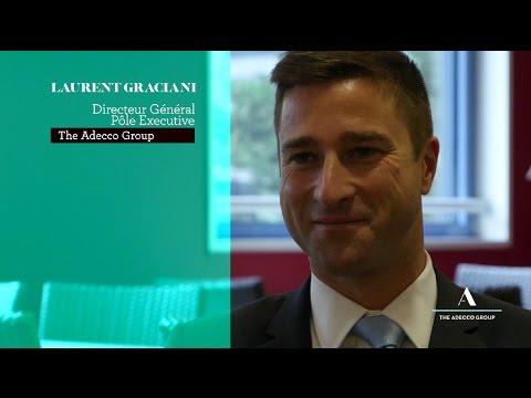 Laurent Graciani, DG des marques spécialisées The Adecco Group, explique le recrutement de demain