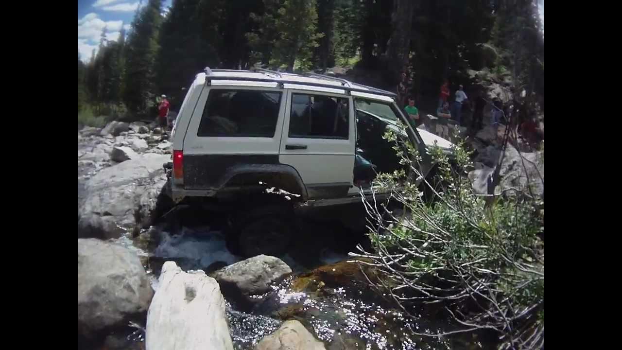 Jeep Holy Cross 4x4 Trail Rock Crawl French Creek Water