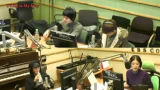 [中字] 20130208 KBS Hong Jin Kyung 2時RADIO CNBLUE & 昌珉連線