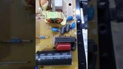 Philips 32pfl3605 12 anakart detaylı video cekimi tamiri