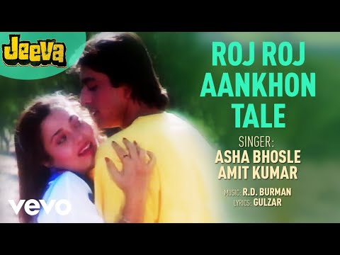 Roj Roj Aankhon Tale  Jeeva  Asha Bhosle   Audio Song