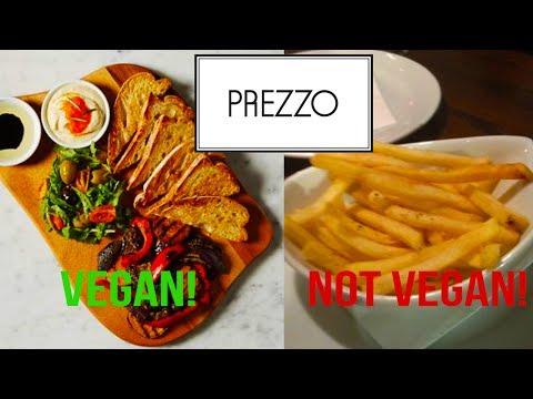 VEGAN FOOD AT PREZZO RANT! EVEN FRIES AREN'T VEGAN!