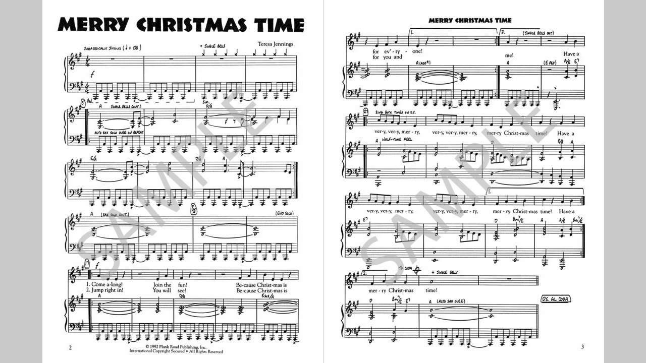 Merry Christmas Time - MusicK8.com Singles Reproducible Kit - YouTube