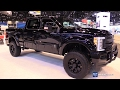 2017 Ford F250 Black Ops Edition by Tuscany - Exterior Interior Walkaround - 2017 Chicago Auto Show