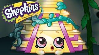 SHOPKINS Cartoon - LOST CITY OF GOLD   Cartoons For Children