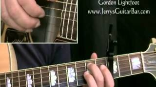 How To Play Gordon Lightfoot Pussywillows Cat-tails (intro only)