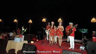 Ban nhạc Flamenco Tumbadora Biểu diễn Christmas 2017 tại Phú Quốc Sea Sense Resort