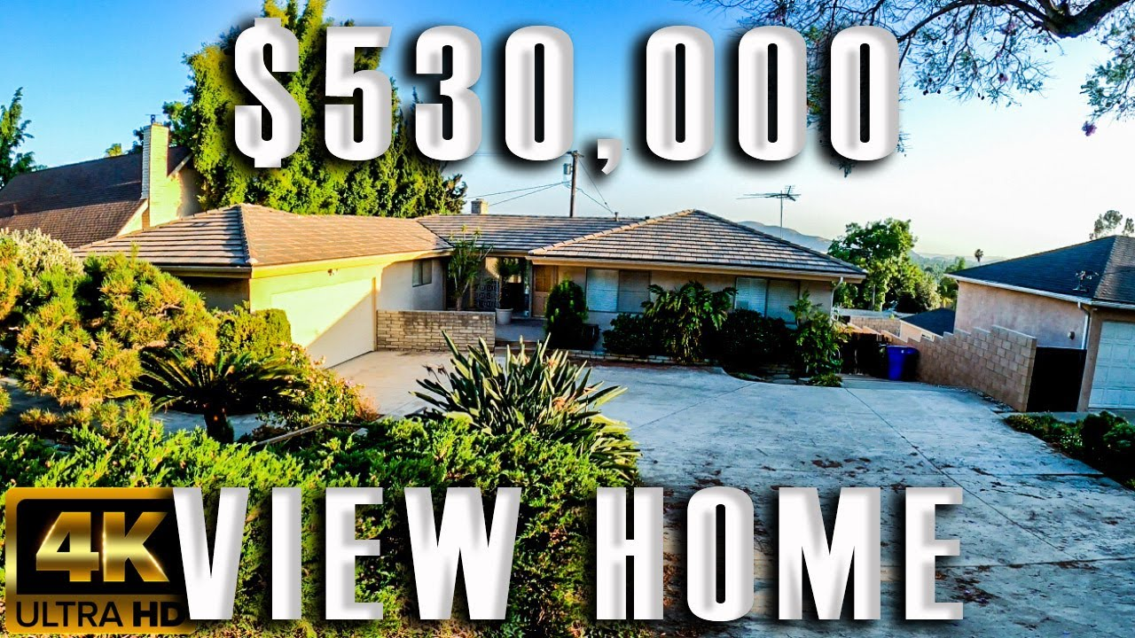 Pomona California Virtual Home Tours in 4k Video Homes for sale in Los Angeles County