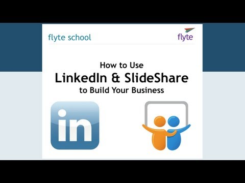 LinkedIn and Slideshare Webinar