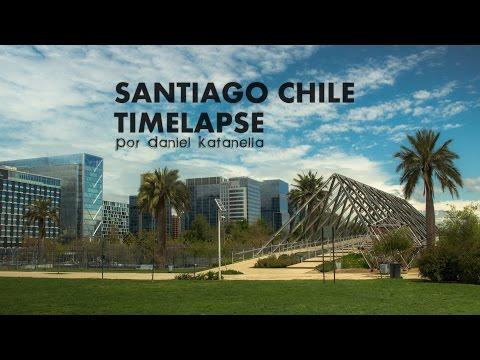 TimeLapse Santiago de Chile.
