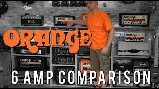 Comparing Oranges with Oranges - What I have learned about 6 Orange amps (Orange Series 9/10)