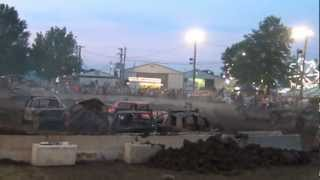 EPR at their home town fair. Ford County Fair Melvin IL 2012 Demolition Derby