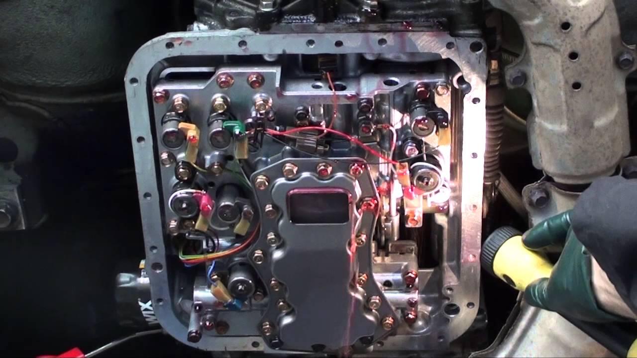 2000 subaru 4eat valve body leak test [ 1280 x 720 Pixel ]