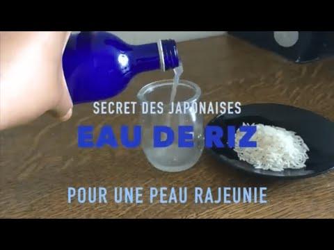 LOTION TONIQUE VISAGE maison - l'eau de riz est le secret des japonaises pour RAJEUNIR LA PEAU