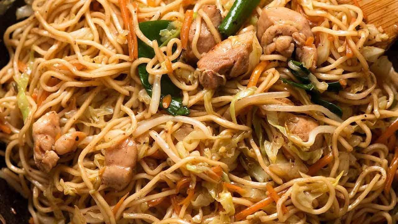 Chow Mein Recipetin Eats