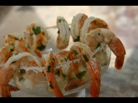 How To Make Margarita Shrimp On The BBQ By Rockin Robin Cooks