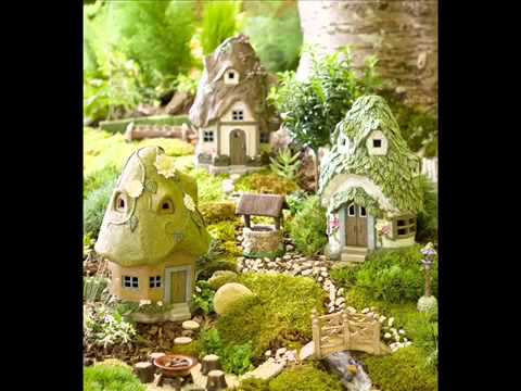 Fairy Houses For The Garden I How To Make Fairy Houses For The Garden    YouTube