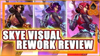 SKYE VISUAL REWORK REVIEW WITH GAMEPLAY