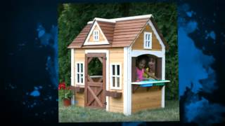 Wooden Kids Playhouse -- The Best Playhouse On The Market!